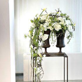 Cascading Flower Arrangement by Gregor Lersch