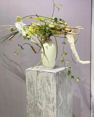 Master Florist Gregor Lersch Modern Flower Arrangement