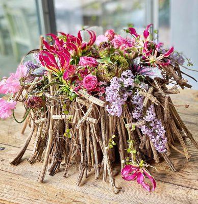 Master Florist Gregor Lersch Table Floral Design