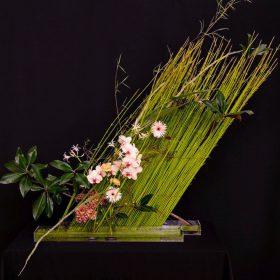 Diagonal Flower Arrangement
