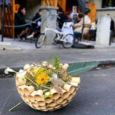 Master Florist Nicu Bocancea Upcycling